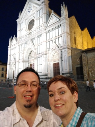 2017-05-28 Firenze Night walk selfie
