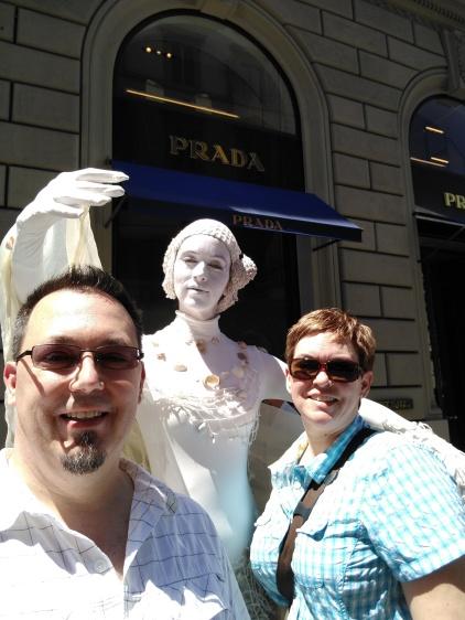 Firenze statue lady
