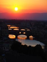 Sunset over Firenze