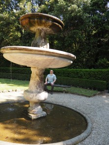 Boboli Gardens - Only a trickle of water