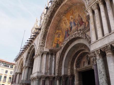 Venice - Outside St. Mark's Basilica