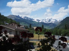 Another hotel view - Aosta Italy