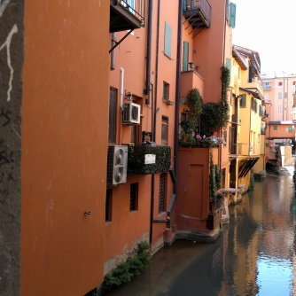 Did you know there were canals in Bologna?