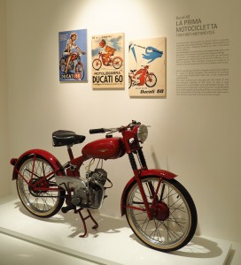 Ducati's first motorcycle produced