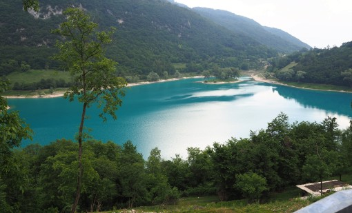 Lake Toblino - another breathtaking sight!