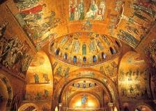 Venice- Inside St. Mark's Basilica